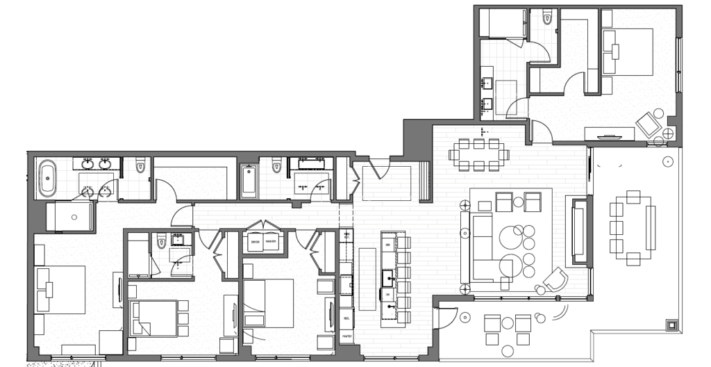 Typical 4 Bedroom Floor Plan